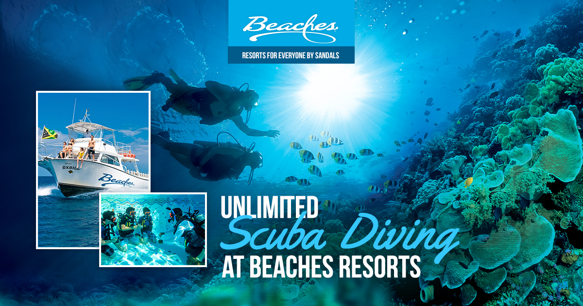 Scuba Diving At All Inclusive Caribbean Resorts Beaches